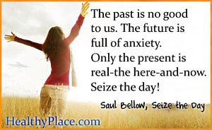 About Counselling. Healthy Place Seize the Day